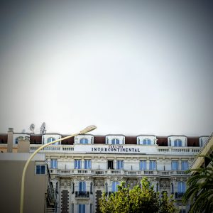 Carlton Cannes Croisette on the side