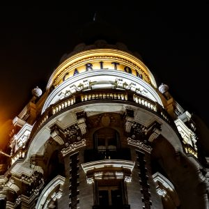 Carlton Tower by night Croisette Cannes